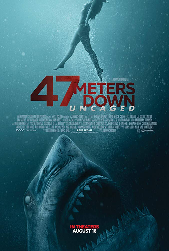 47 Meters Down: Uncaged Movie Free Online
