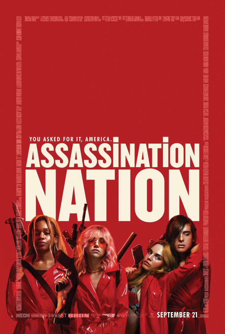 Assassination Nation (2018) Full Movie Free Online