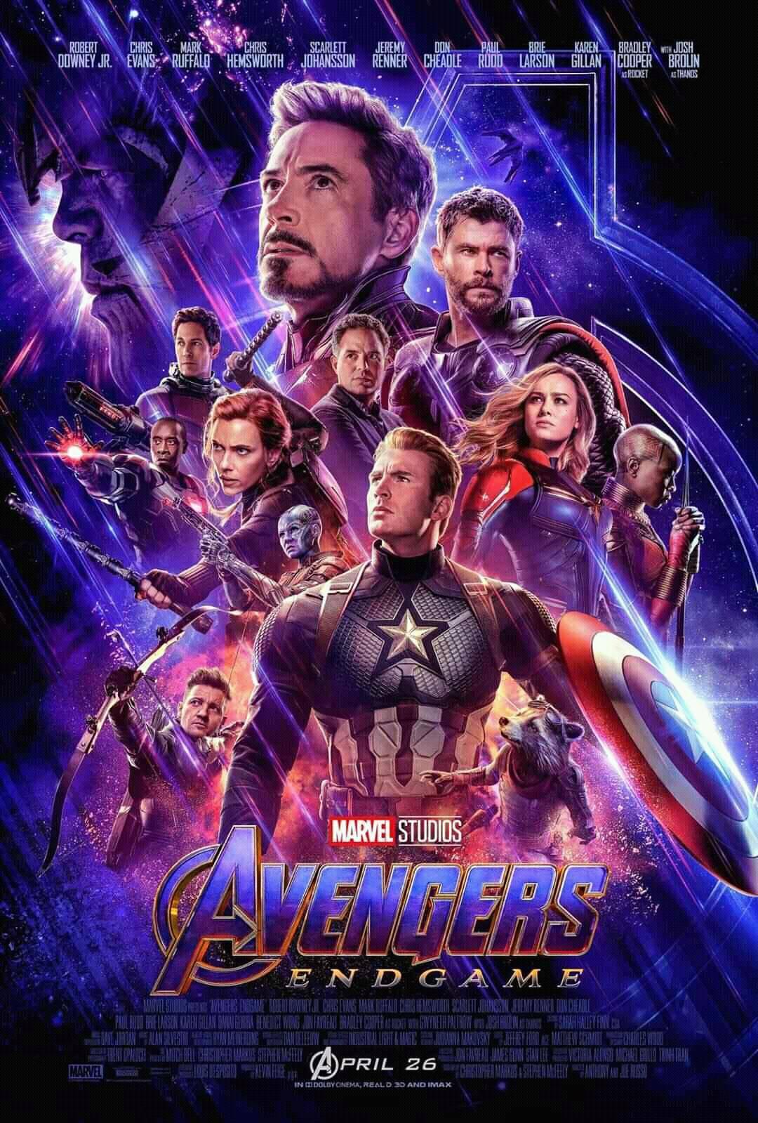 Avengers: Endgame - 2019 Marvel Studios Full Movie Free Online