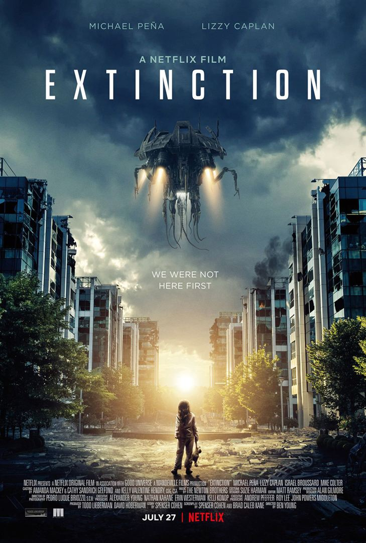 Extinction (2018) Official Full Movie Free Online