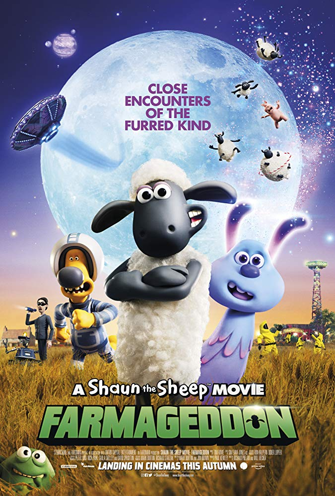 A Shaun the Sheep Movie: Farmageddon (2018) Official Full Movie Free Online