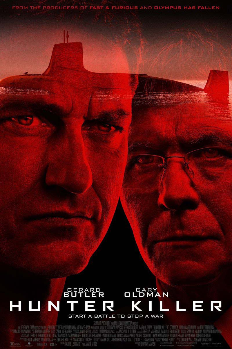Hunter Killer (2018) Official Full Movie Free Online