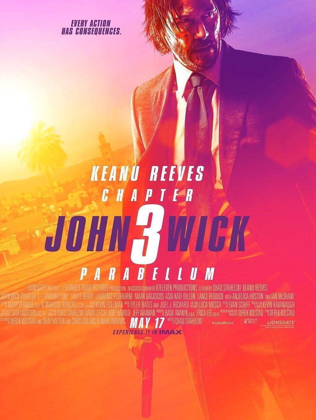 John Wick: Chapter 3 - Parabellum (2019) Movie Free Online