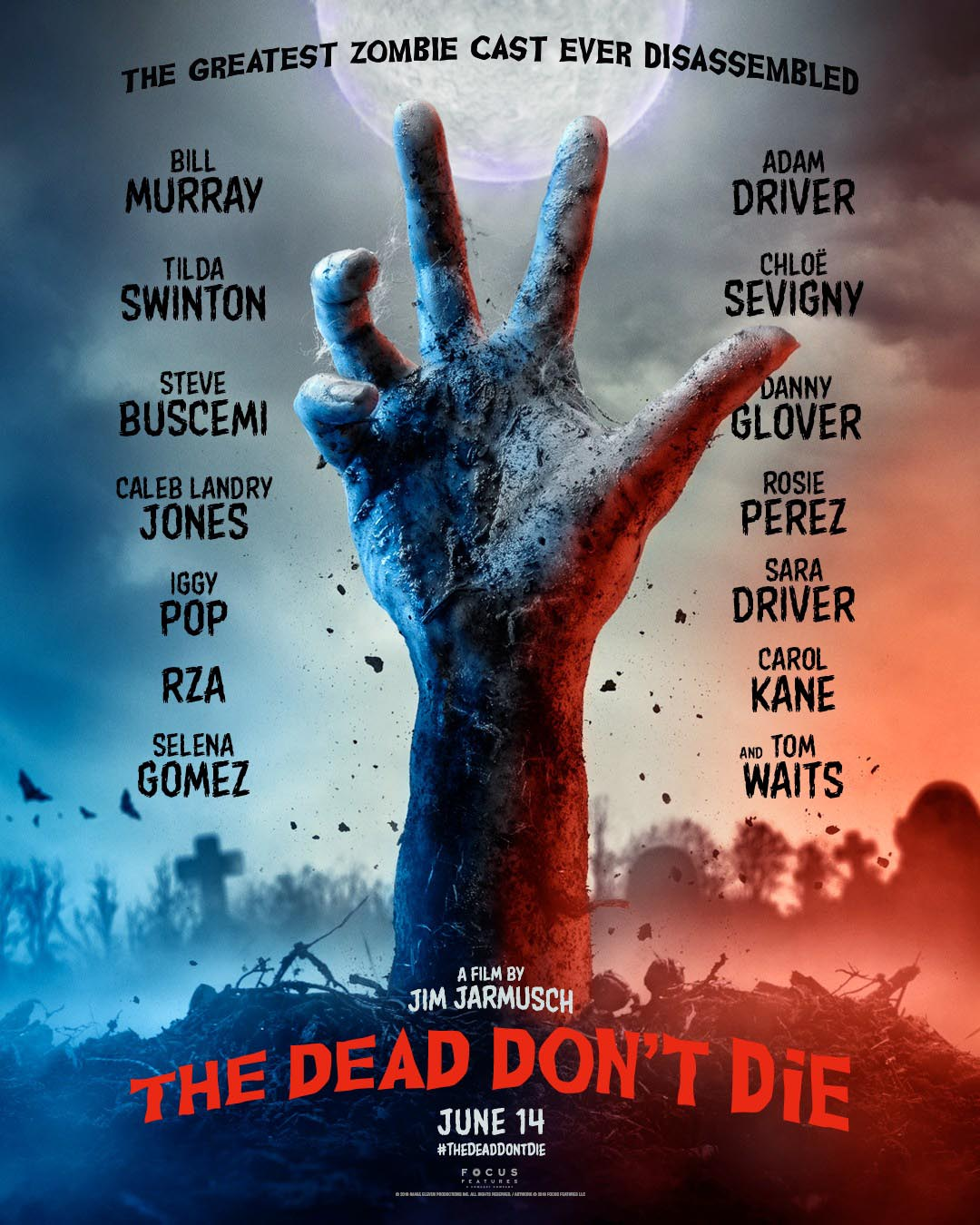 The Dead Don't Die comedy horror (2019) Movie Free Online