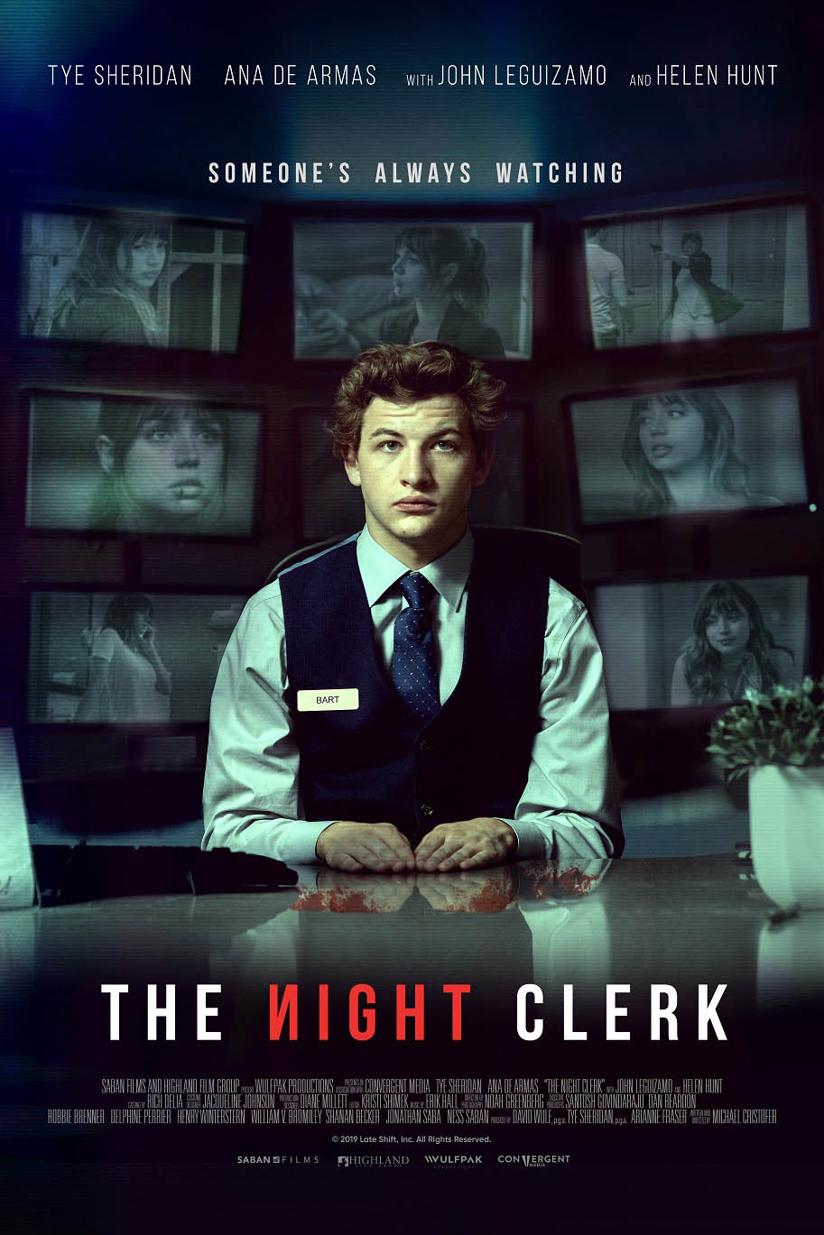 The Night Clerk 2020 Movie poster Free Online