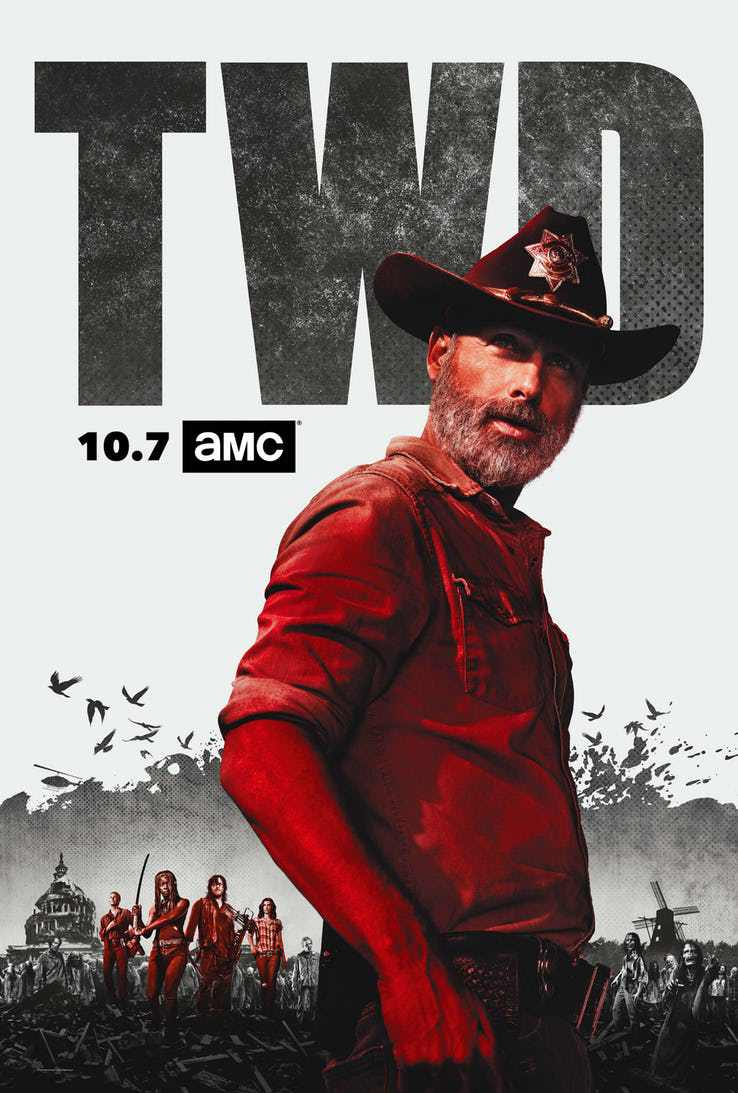 Walking Dead Season 9 TV series netlix