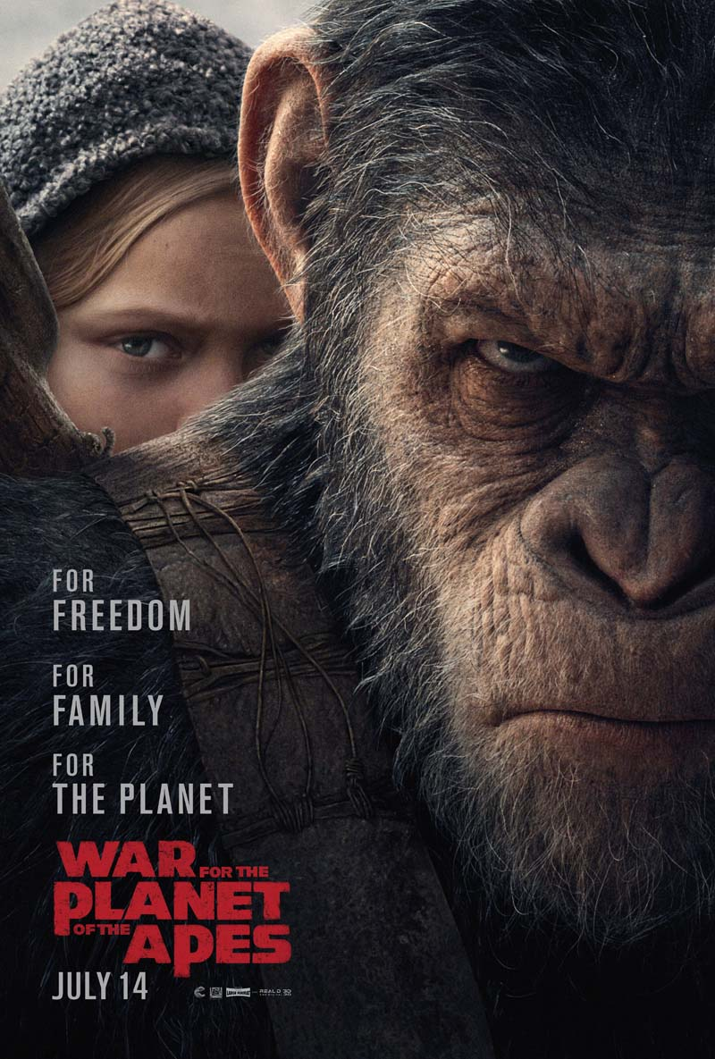 War for the Planet of the Apes (2017) Full Movie Free Online