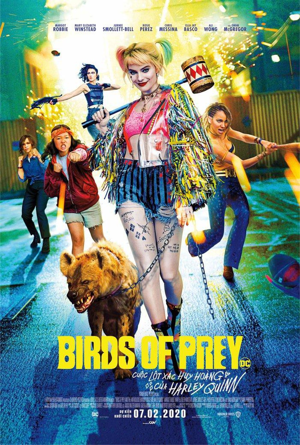Birds of Prey: And the Fantabulous Emancipation of One Harley Quinn (2020) Movie Free Online