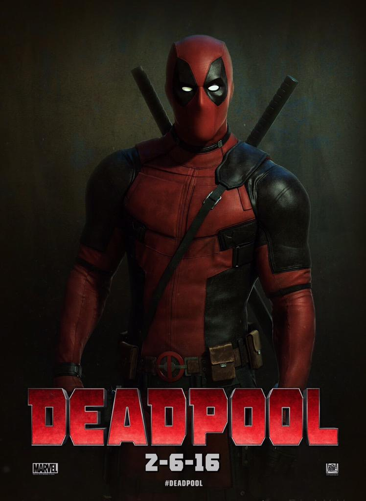 Deadpool 2016 Full Movie poster Free Online