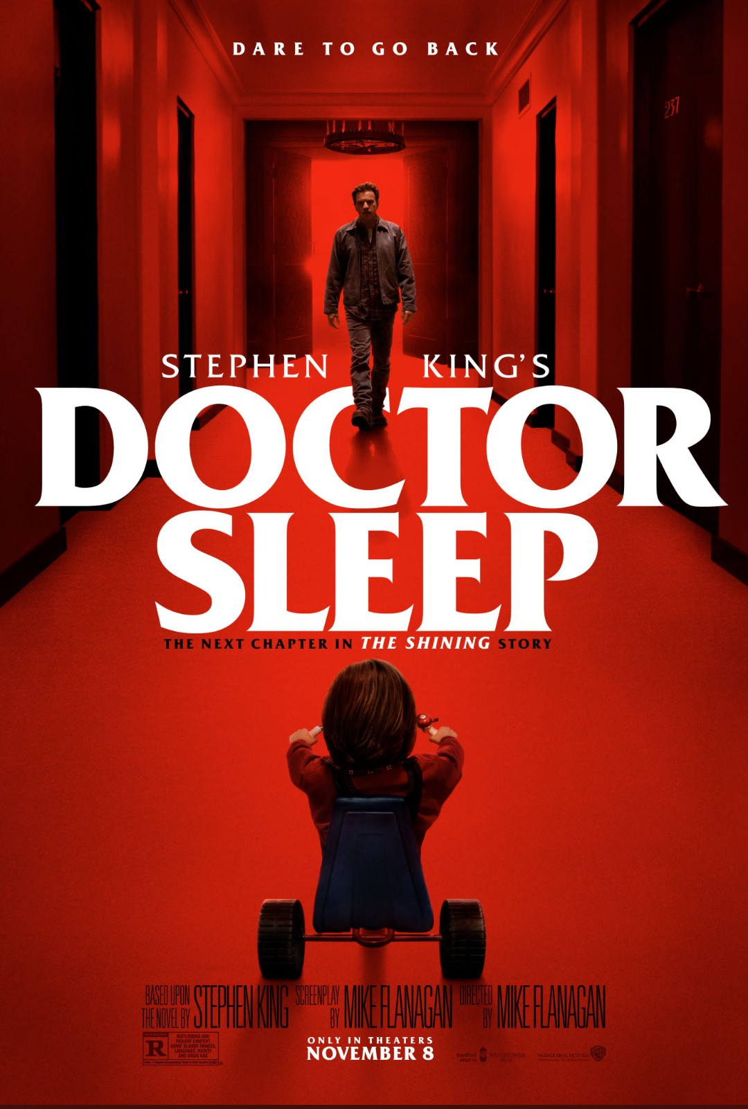 Doctor Sleep Ewan McGregor, Rebecca Ferguson, Jacob Tremblay, Zahn McClarnon, Bruce Greenwood, Carel Struycken, Emiky Alyn Lind