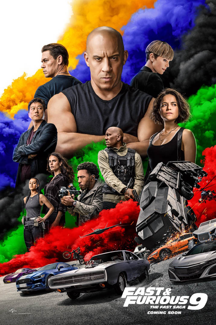 Fast & Furious 9 (2020) Movie poster Free Online