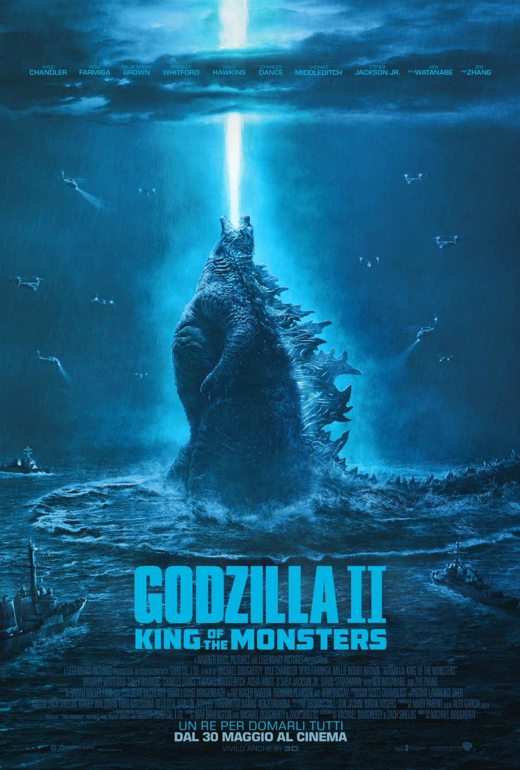 Godzilla 2 King of the Monsters (2019) ゴジラ Official Full Movie Free Online