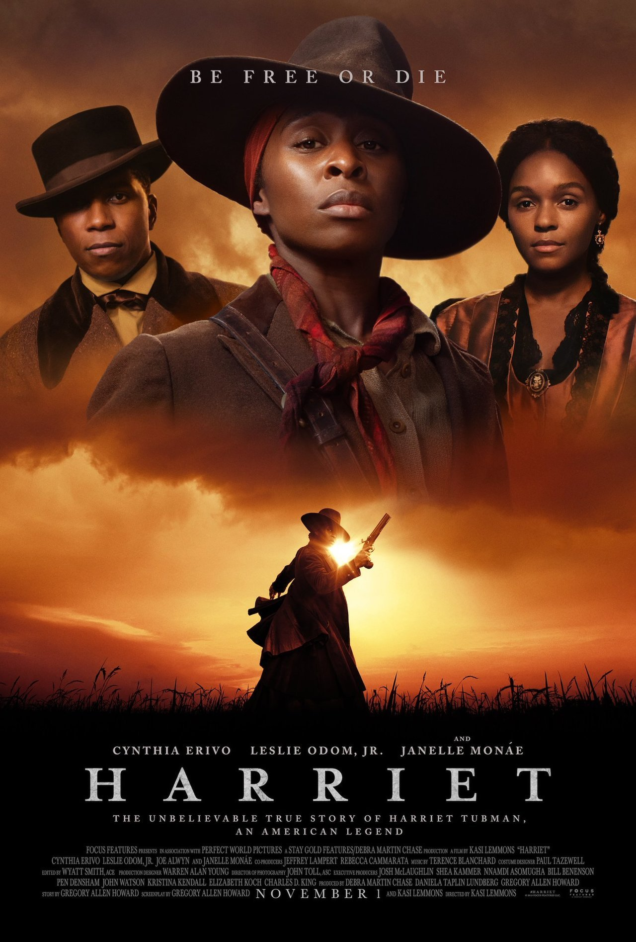 Harriet Movie Jennifer Nettles, Joe Alwyn, Cynthia Erivo Online