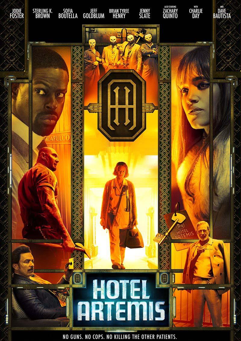 Hotel Artemis (2018) Full Movie Free Online