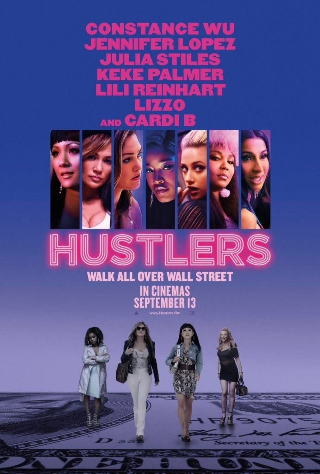 Inspired by the viral New York Magazine article, Hustlers follows a crew of savvy former strip club employees who band together to turn the tables on their Wall Street clients.