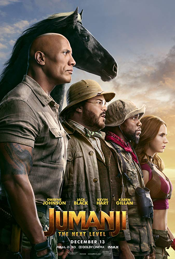 Jumanji: The Next Level (2019) Movie Free Online