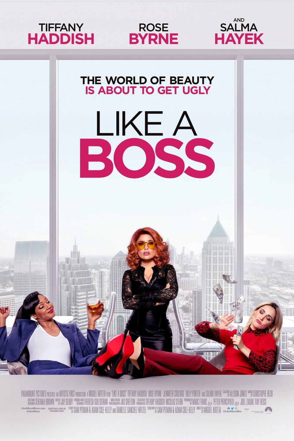 Like A Boss 2020 Movie Free Online Salma Hayek, Rose Byrne, Tiffany Haddish