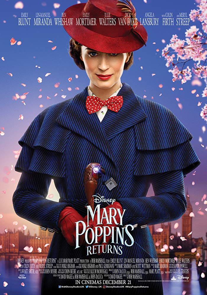 Mary Poppins Returns (2018) Movie Free Online