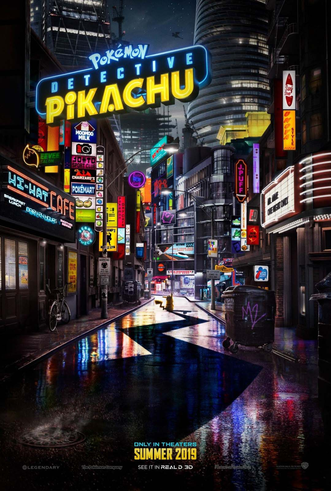 Pokémon Detective pikachu (2019) Movie Free Online