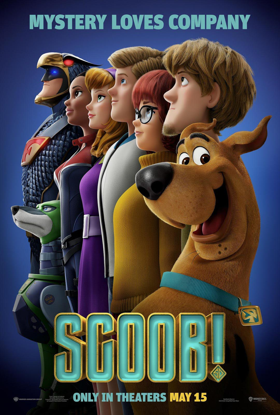 Scooby doo Movie poster Free Online