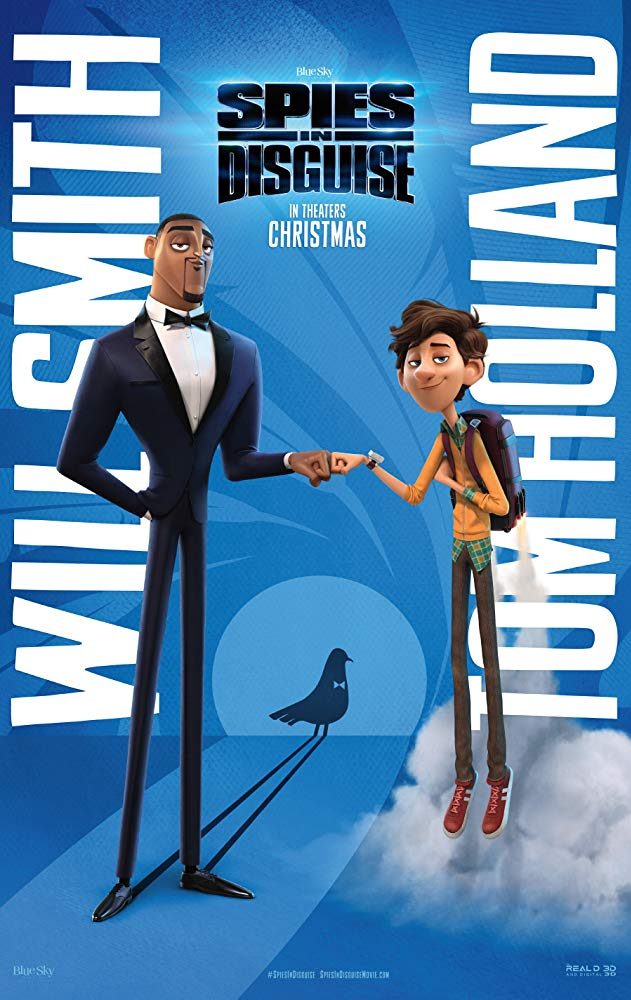Spies in Disguise (2019) Full Movie Free Online