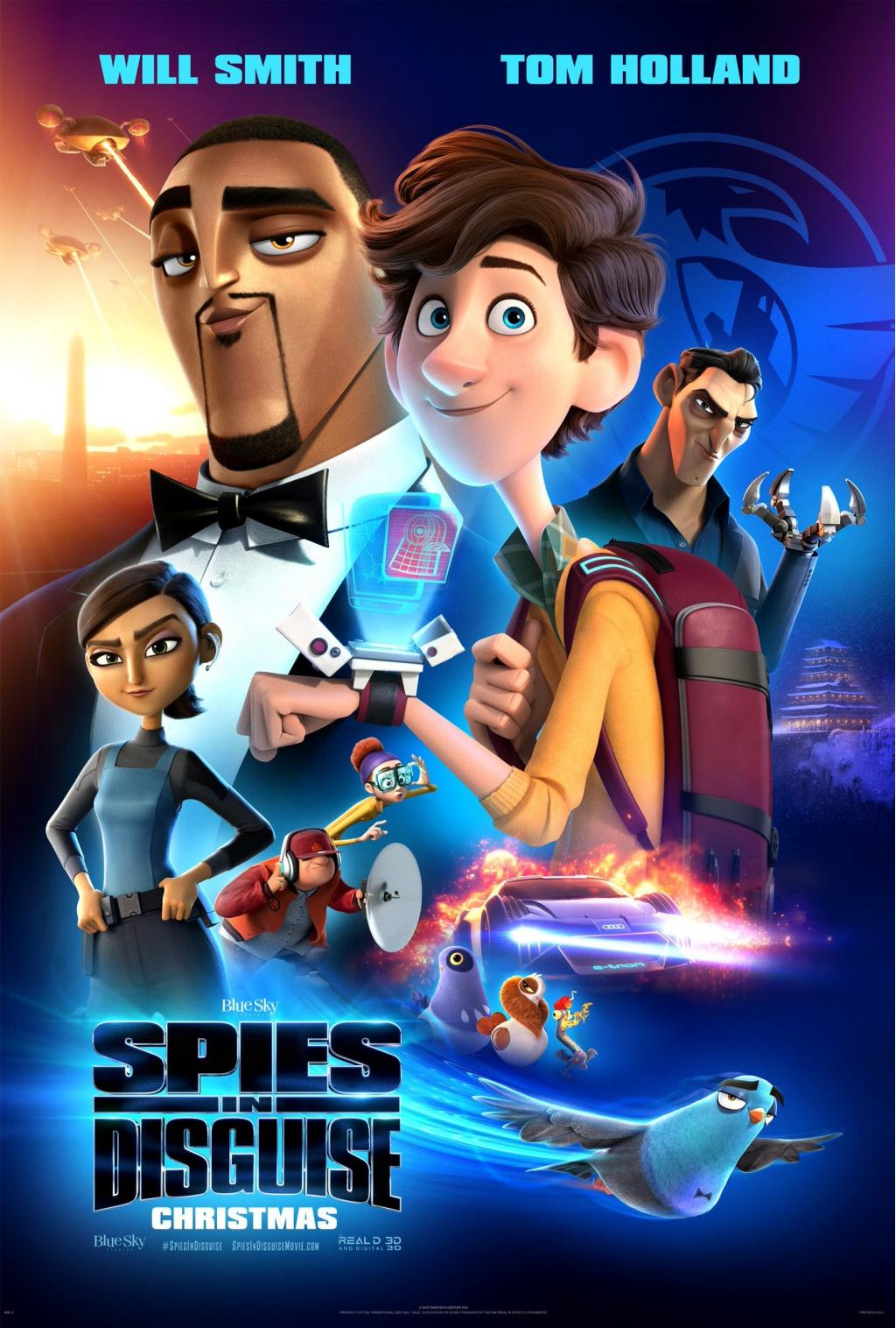 Spies in Disguise (2019) Movie Free Online
