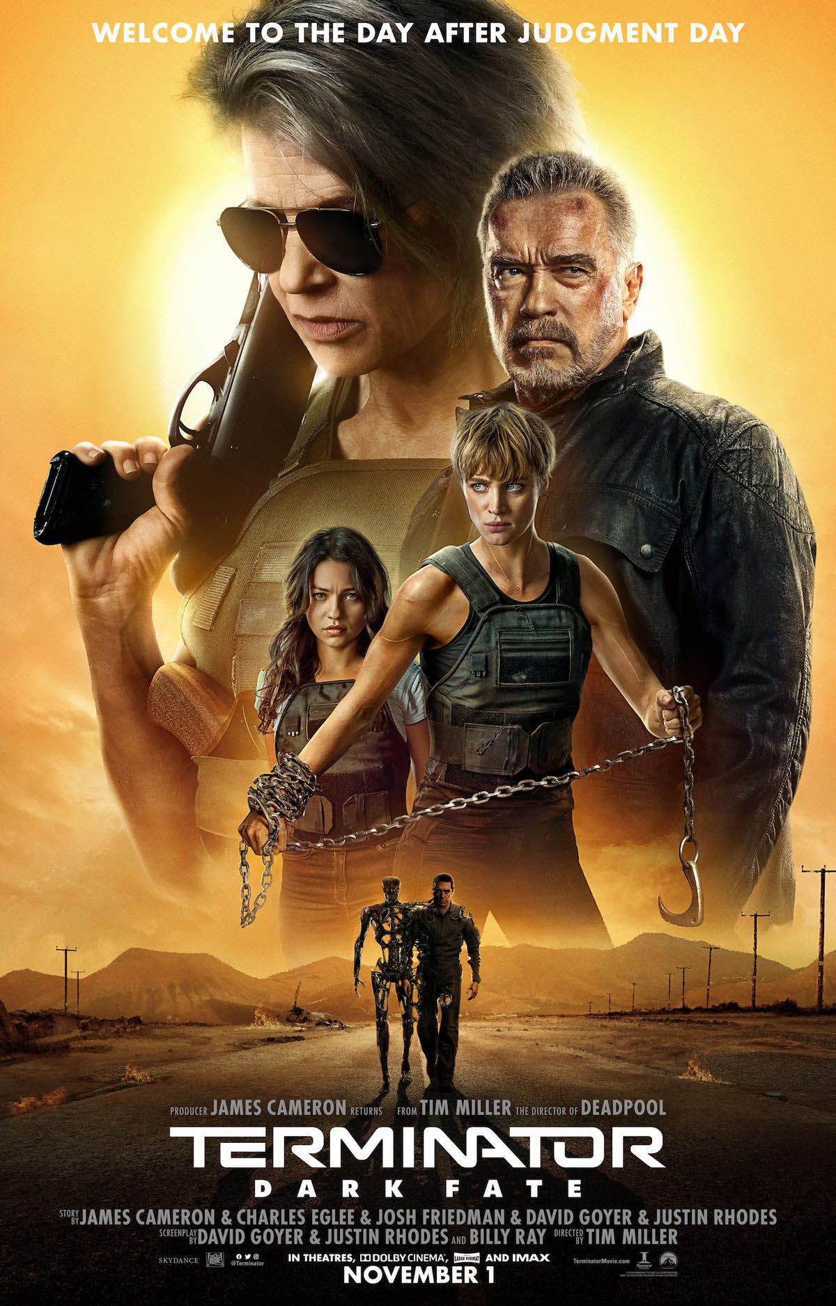 Terminator: Dark Fate Movie Trailer Free Online