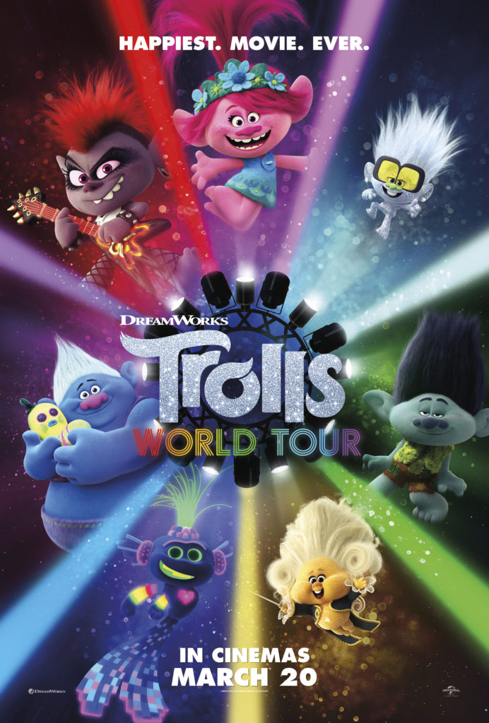Trolls World Tour (2020) magnificent amusement Full Movie poster Free Online