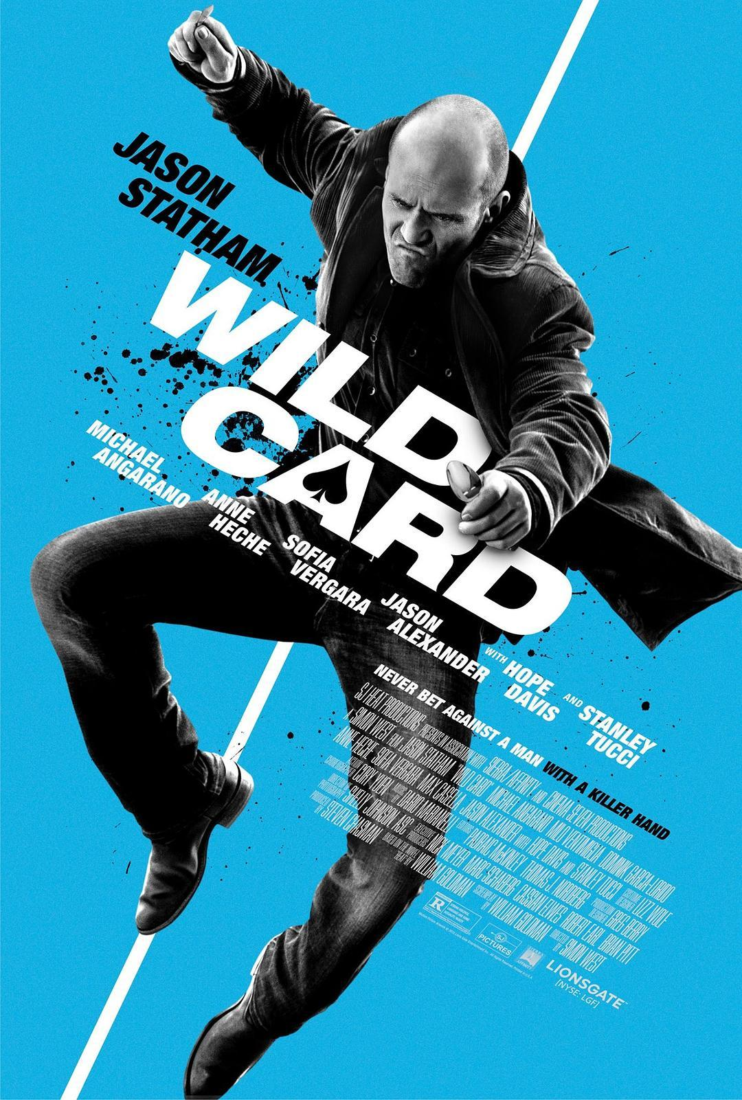Wildcard (2015) Full Movie poster Free Online
