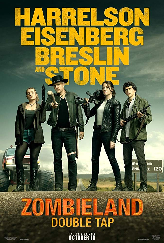 Zombieland: Double Tap comedy horror Movie Free Online